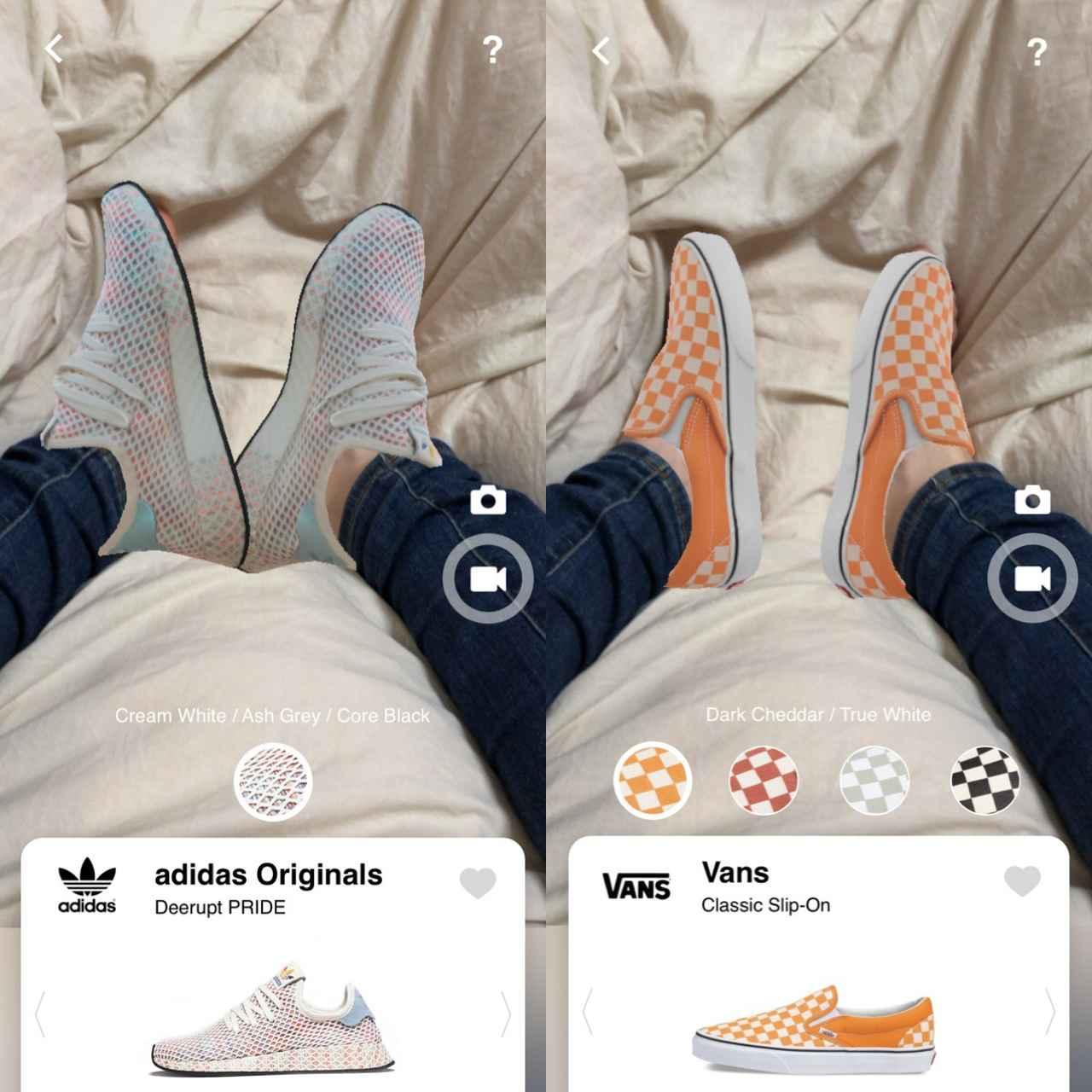 画像1: 似合うものを見つけてつい欲しくなる!靴下とのコーディネートも試してみて。