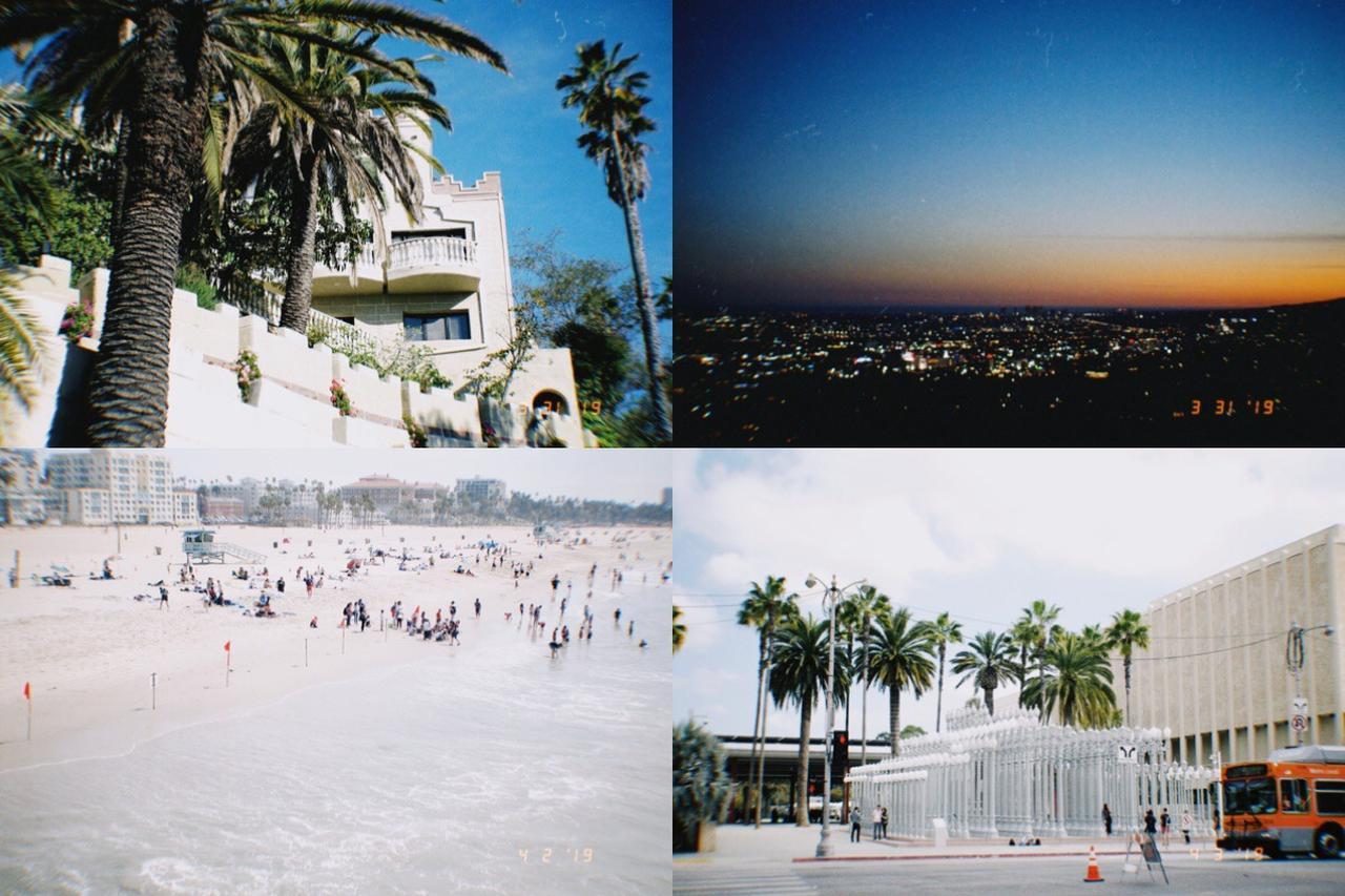 画像1: LAの素敵な景色や美味しかったものをこのアプリで加工してもっと魅力的に。