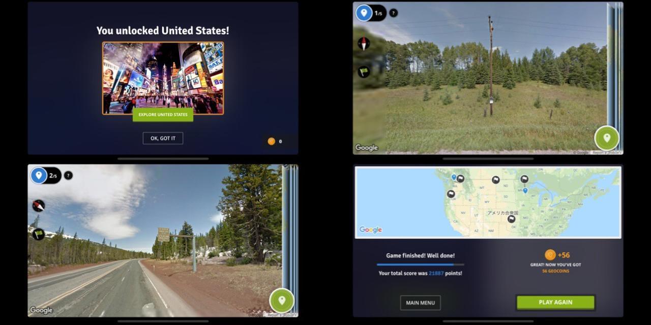 画像2: 新しいエリアを解放してテーマが決まったストリートビュークイズに挑戦!
