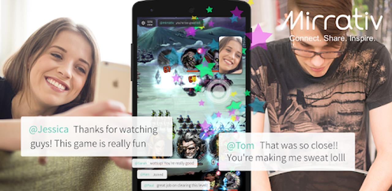 画像: Mirrativ: Live Stream Any App - Apps on Google Play