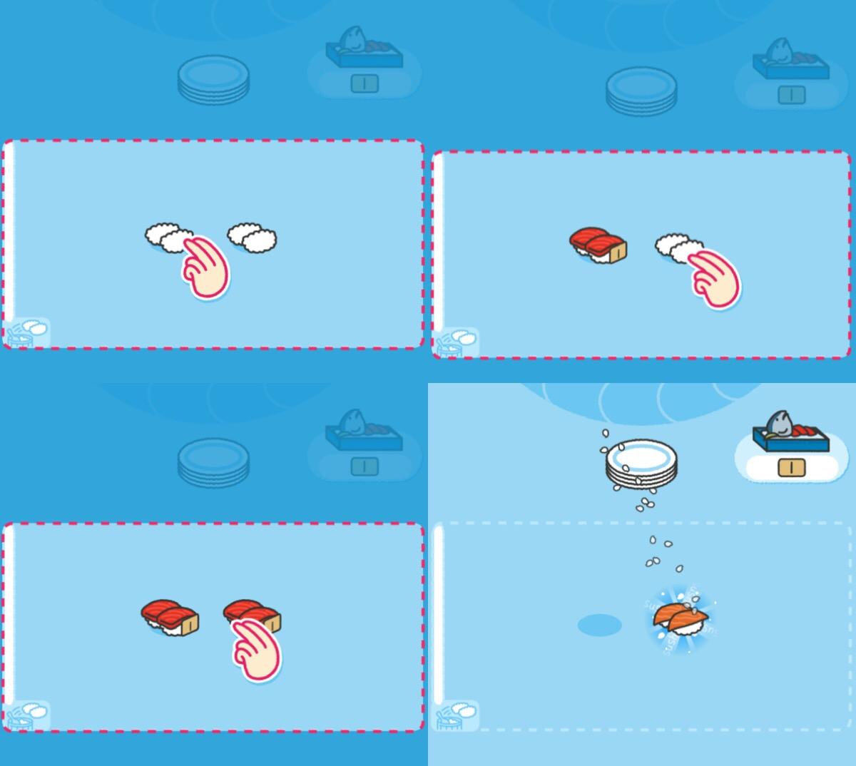 画像2: 同じお寿司をくっつけると新しい種類のお寿司が誕生!