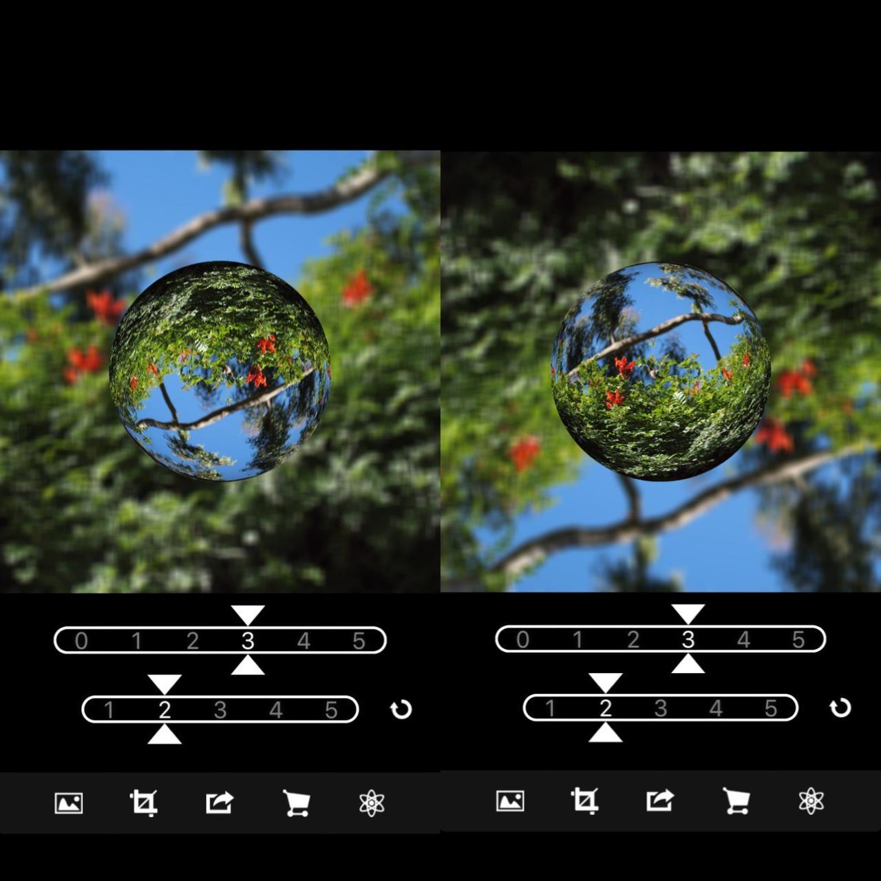 画像2: 写真を読み込むだけで宙玉写真ができちゃう!