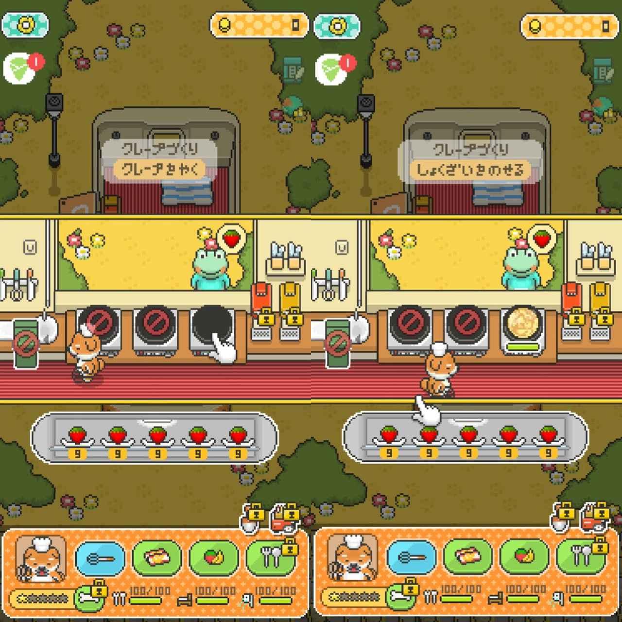 画像4: ビラ配り→果物集め→クレープ作って売る、が基本の流れ。