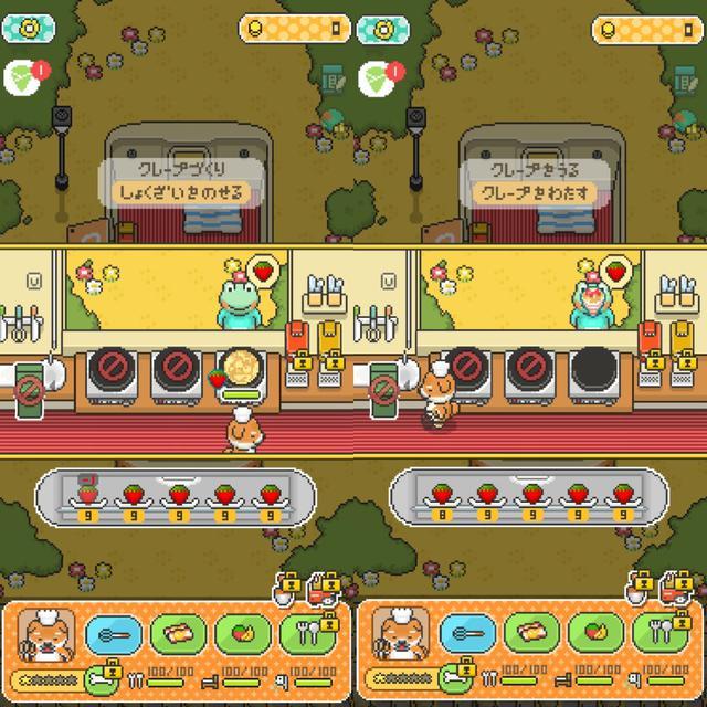 画像5: ビラ配り→果物集め→クレープ作って売る、が基本の流れ。
