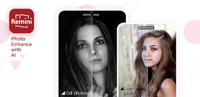 画像: Remini - photo enhancer - Google Play のアプリ