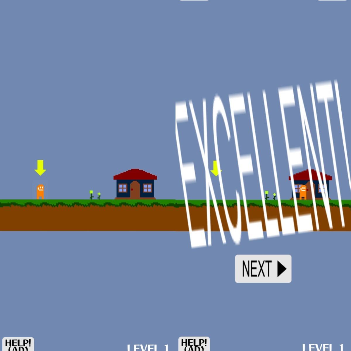 画像1: タップすると?!基本操作はこれだけ。アクションステージで操作に慣れよう。