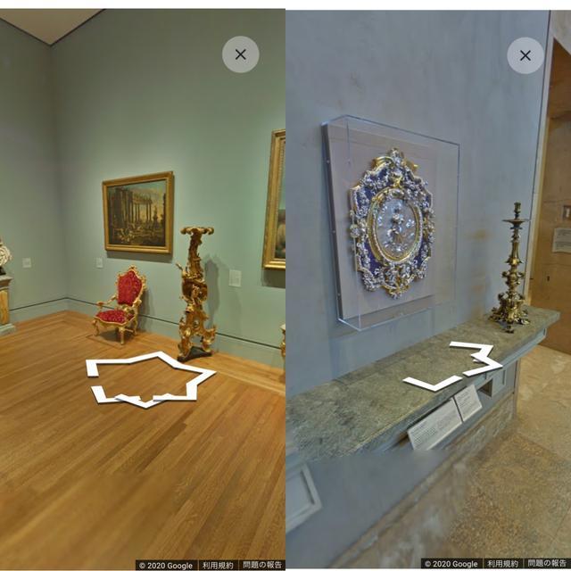 画像3: 360°ビューやストリートビューを利用した機能での鑑賞もできます。
