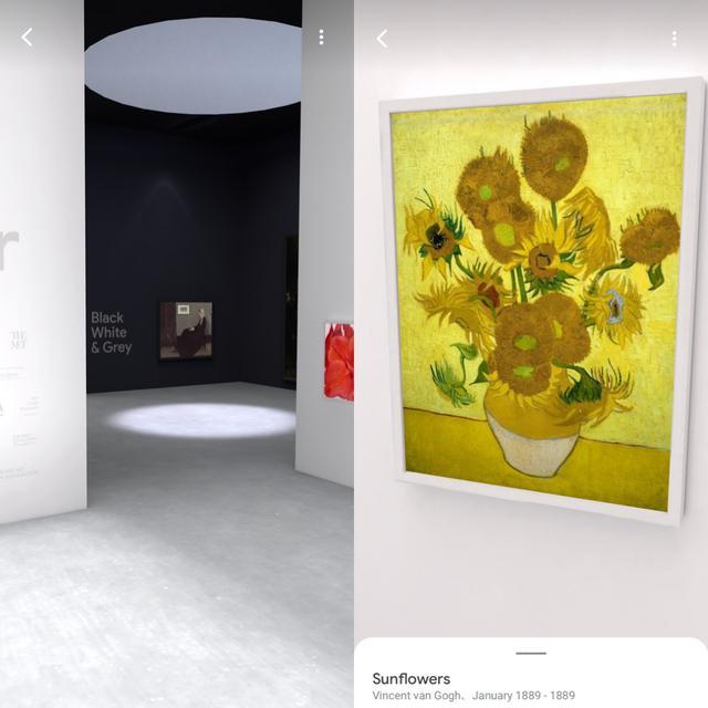 画像7: ARや絵画風加工、似ている作品探しとカメラを使ったおもしろ機能も。