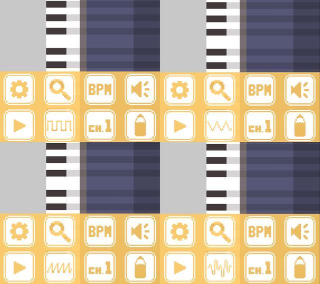 画像2: ファミコンっぽい音が作れちゃう!工夫次第で面白い曲作りができそうなアプリ。