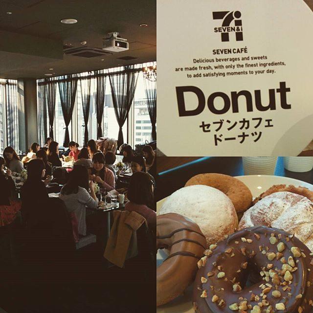 画像: 19日から発売されるセブンイレブンの新ドーナツの試食会。多くのモデルさんに参加いただきました!有難うございます!美味しかったです!  #セブンカフェドーナツ  #カワコレ #model www.instagram.com