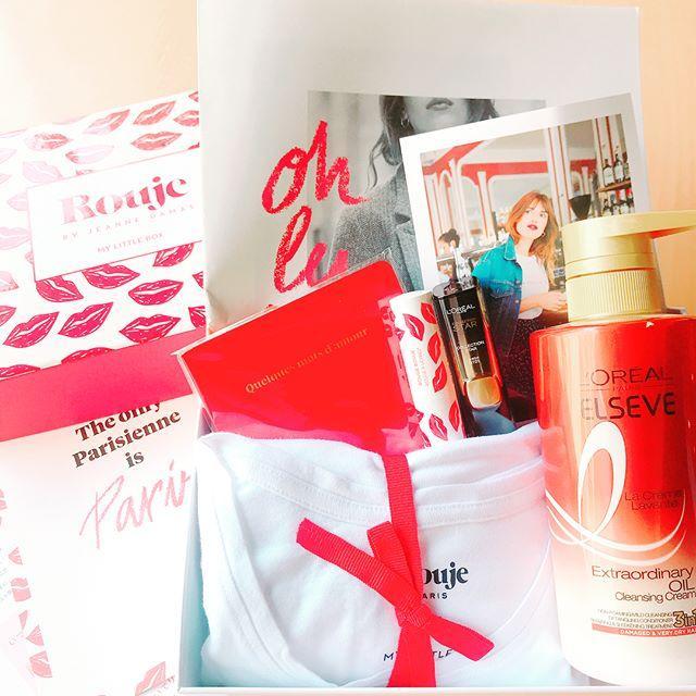 画像: 3月のマイリトルボックスが届きました 今月はパリのファッションアイコンとして話題のジャンヌ・ダマスが立ち上げたブランド『Rouge』とのコラボBOX! 憧れのパリジェンヌに一歩近づけるかも... アイテム詳細が気になる方はプロフリンクからサイトに飛 ... www.instagram.com