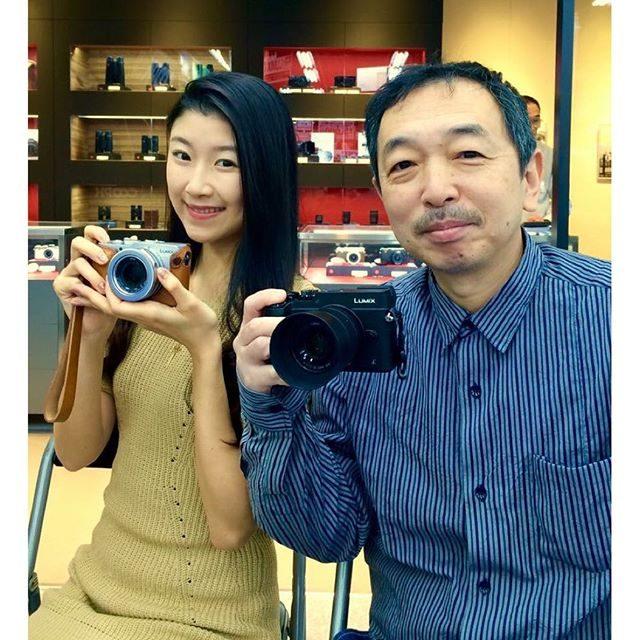 画像: 秋葉原 ヨドバシカメラ で森脇先生のルミックスセミナーにモデルで参加しております(^。^) ぜひきてね  #マルチメディア #akiba #ヨドバシカメラ #被写体モデル #me #ルミックス #lumix www.instagram.com