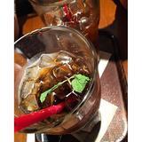 画像: 冷コーソーダってゆーの飲んでる! うまいじゃんやるじゃん #上島珈琲 #冷珈ソーダ www.instagram.com