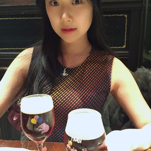 画像: 新年会に行きました❤️ このビールがだいすぅき❤️ #beer  #deliriumtremens #belgiëbeer #ベルギービール # #tokyo #akasaka #新年会  #japanesemodel #japanesegirl  ... www.instagram.com