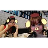 画像: ポムポムゆりたんとランチ のほほ〜ん。 顔つぶれてゅ〜〜 #cityshopnoodle #lunch #ポムポムプリン @yuchunchan www.instagram.com