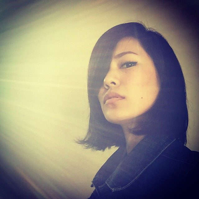 画像: #denim #デニム #ボブ #ヘアー #hair #selfie  明日は合同連絡! 今日は、もう寝ます‼︎