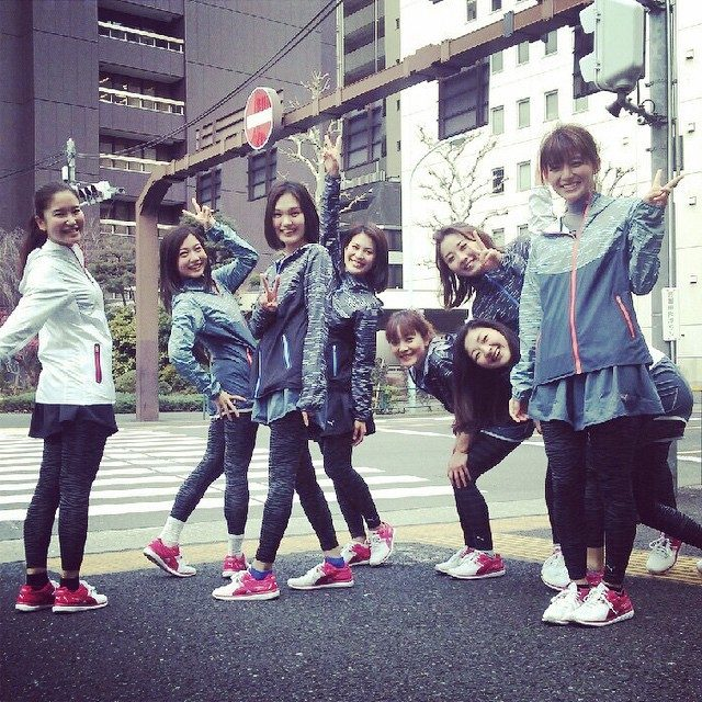 画像: #Sports #PUMA #PUMAGirls #Girls #fashion #running  7㎞完走‼︎ みんなと走ると楽しい‼︎ #runner's high
