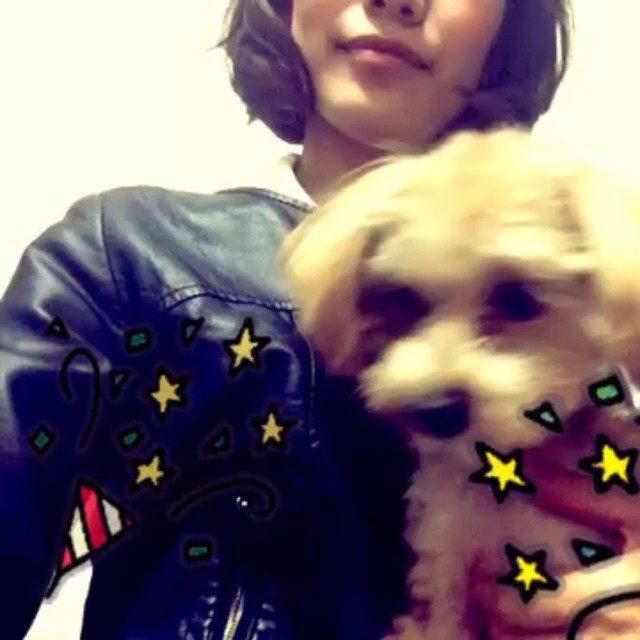 画像1: 愛犬アニーと❤︎ #愛犬 #dog #マルプー #マルチーズ  #poodle
