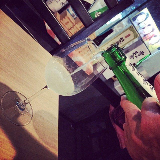 画像: #日本酒 #表参道 #wineglass #Japan instagram.com