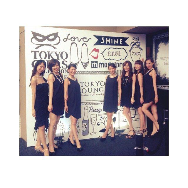 画像: #TOKYOLOUNGE #July17 #Ameba #TGC #modelpress  皆様お疲れ様です☺︎ instagram.com