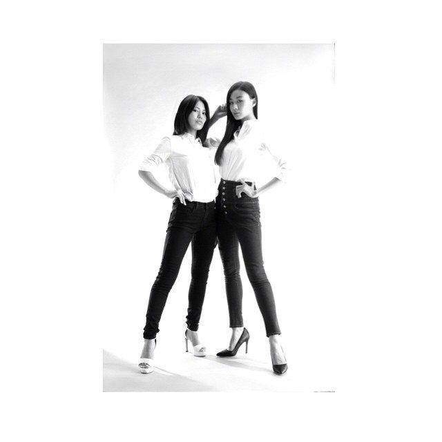 画像: あやめとのタイアップは初めて! こうして、一緒に仕事できる事を夢見てたから嬉しい‼︎ #model #japan  #尾崎ハンナ #OzakiHanna  #松永あやめ instagram.com