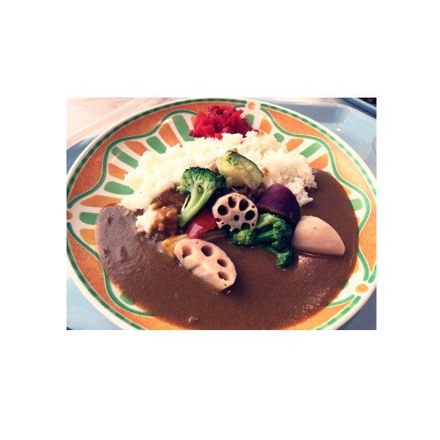 画像: #東京ビックサイト #野菜カレー instagram.com