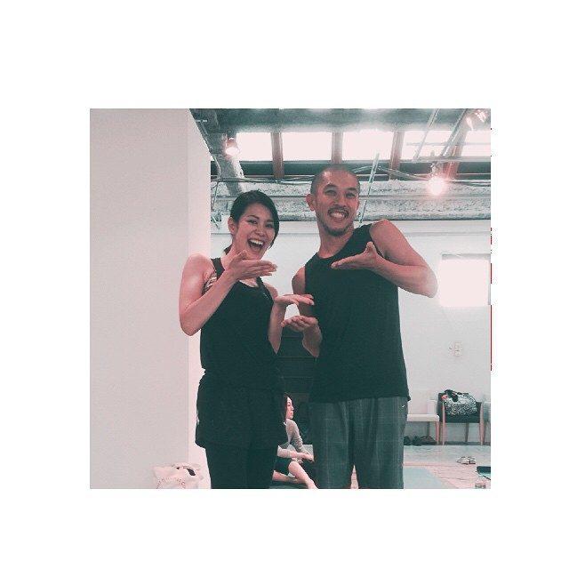 画像: #yoga #yogajournal #beautyyoga #代官山 佐藤ゴウ先生〜〜♪ instagram.com