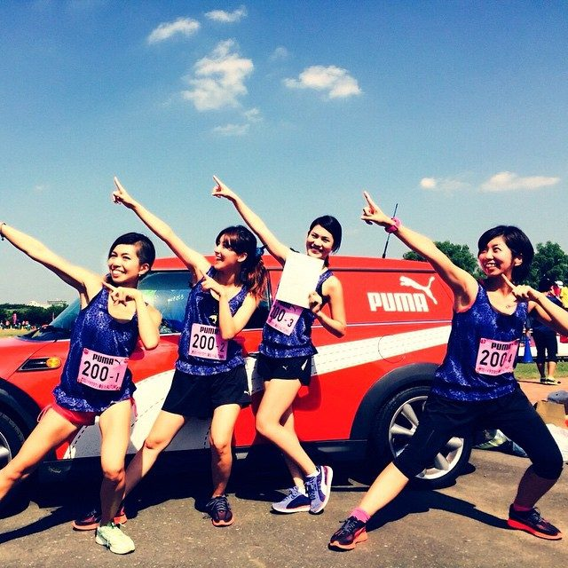 画像: #PUMAgirls #Honolulu #Honoluluマラソン #marathon #PUMA みんな頑張れ〜 instagram.com