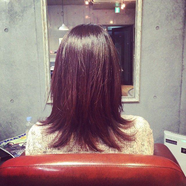 画像: #after #美容院 #ヘアカット #ヘアサロン www.instagram.com