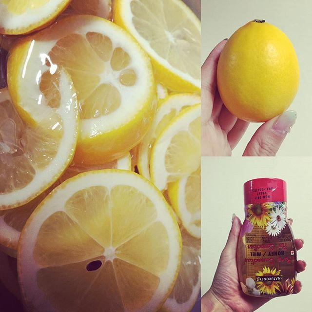 画像: 大好きな蜂蜜レモンで夏バテ防止 #レモン #蜂蜜 #夏バテ #お菓子の時間 #ビタミンC #カルディ #Oisix www.instagram.com