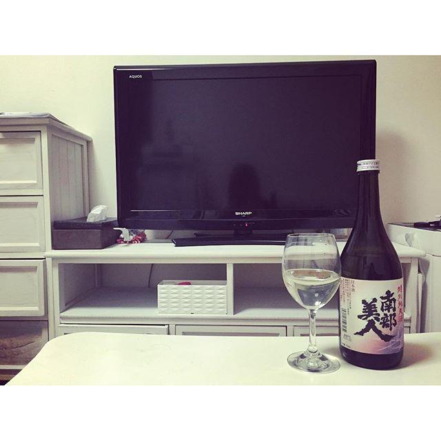 画像: 明日も朝早く起きる為に今日は久々過ぎる晩酌。  お家でお酒飲むのが一番落ち着く♡ #晩酌 #リラックス #緊張解く #朝5時起き #勉強  #南部美人 #日本酒 www.instagram.com