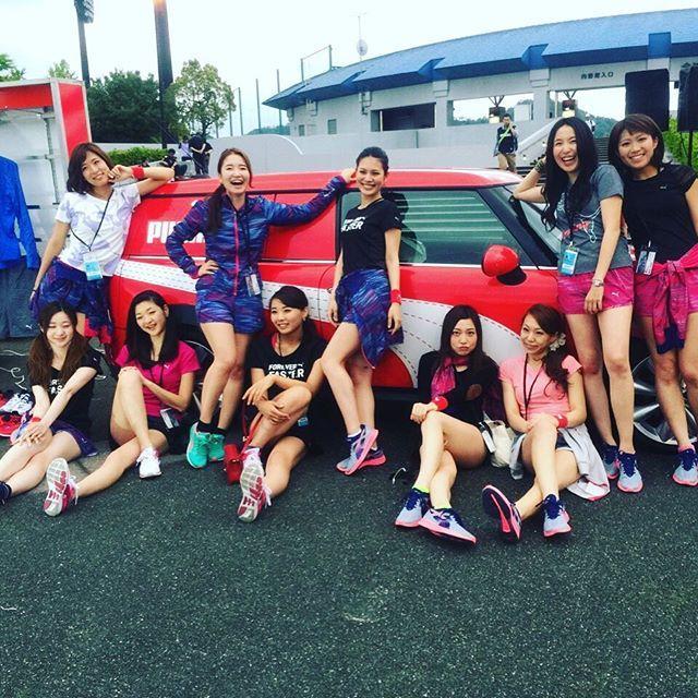 画像: 11/26 まさかの集合!? #pumagirls  #ignitetokyo  #皇居ラン #Happy www.instagram.com