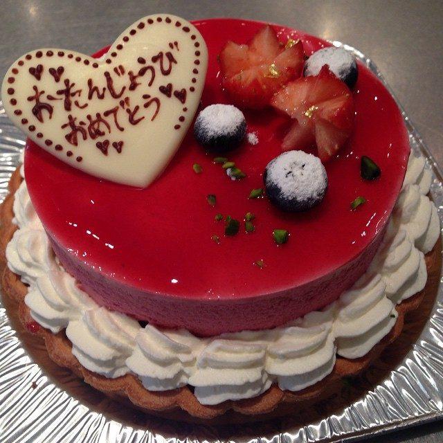 画像: 仲良しさんの誕生日なので ケーキ作りました〜♡ なかなか上手にできたよ^ ^♡ #料理教室 #ケーキ #誕生日