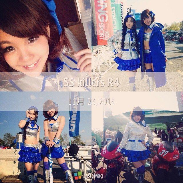 画像: 桶川スポーツランドにて♡ SS killers最終戦でした^ ^ #FotoRus #桶川 #サーキットレディ #バイク #レースクイーン #MAAMI