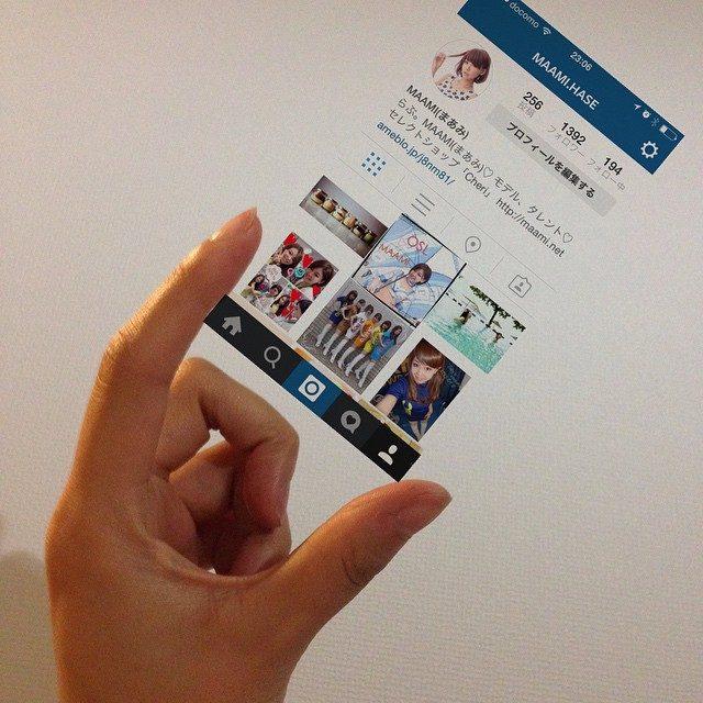 画像: 流行りに弱い…♡笑 さっそくインスタマイハンド♡  #インスタマイハンド #instamyhand #picsart #photography #ios instagram.com