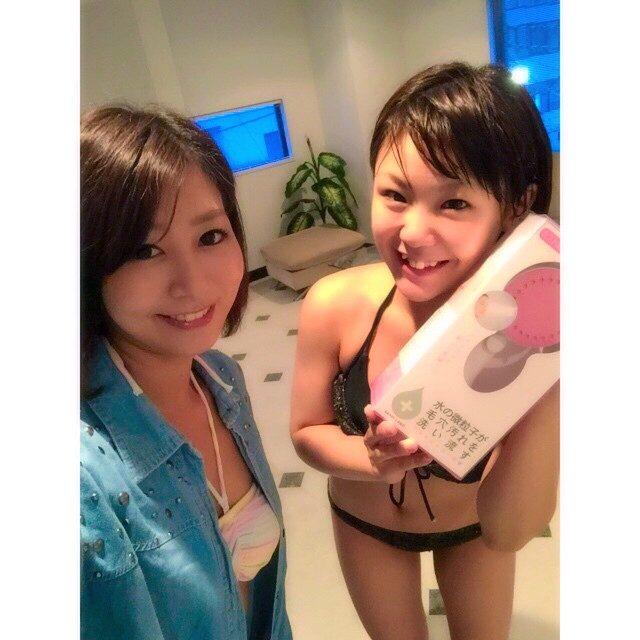 画像: 日テレ ポシュレ♡ #すっぴん#水着で #撮影 でしたーーー^ ^ instagram.com