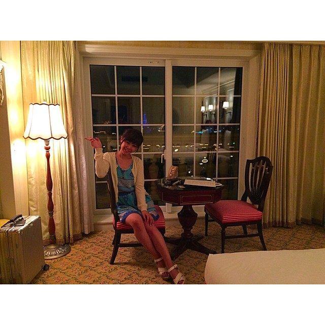 画像: とても幸せな週末でした〜♡ シンデレラ城の見えるお部屋! 嬉しすぎるーーー♡^ ^ #姉妹でお泊まり #ランドホテル #シンデレラ城 instagram.com