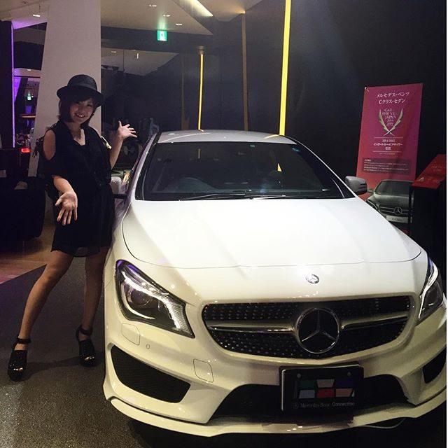 画像: メルセデスカフェにきてるよーーー♡ かっこいい車がたっくさん!*\(^o^)/* #メルセデスCLA instagram.com