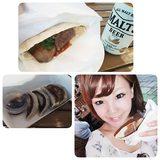 画像: 8/6まで代々木でやってる #肉ショク女子博 ♡♡♡ a-nationの会場でやってるよー*\(^o^)/* 2回目だけど行ってきた♡ お肉とビール♡ しあわせすぎる♡  #肉食女子博 instagram.com