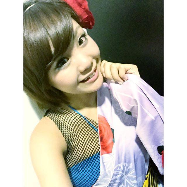 画像: きょうの #衣装♡ 2年前に着たのと同じ〜*\(^o^)/*♡♡♡ #蛍姫 instagram.com