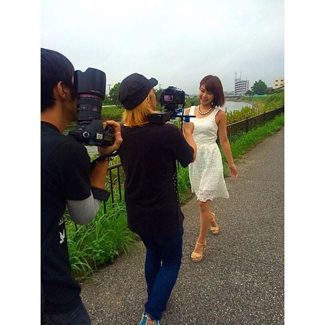 画像: 撮影一コマ♡ in千葉*\(^o^)/* さっ…寒かったっ涙 #オフショット #撮影 instagram.com