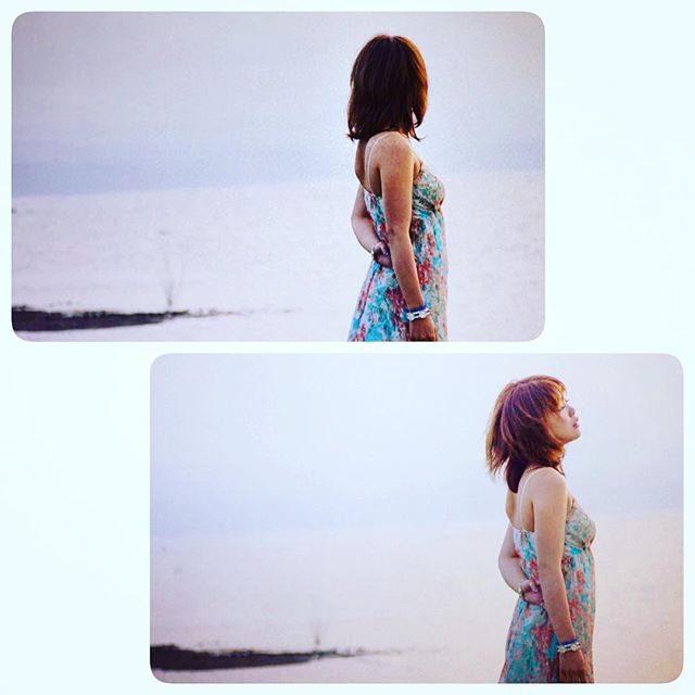 画像: もうすぐお仕事終了ー♡ 山中湖でのおさしん*\(^o^)/* #ポートレート #作品撮り  #me #MAAMI #作品 instagram.com