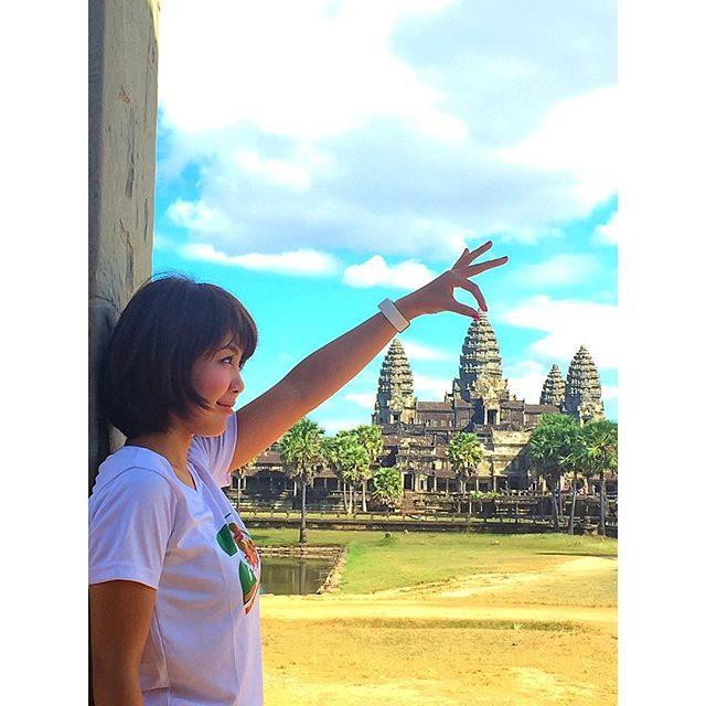 画像: ✳︎ ひょいっ♡ #アンコールワット*\(^o^)/* #maami #me #travel #angkor #angkorwat #likes #like4like #likeforlike #tagsforlikes #follow #foll ... www.instagram.com