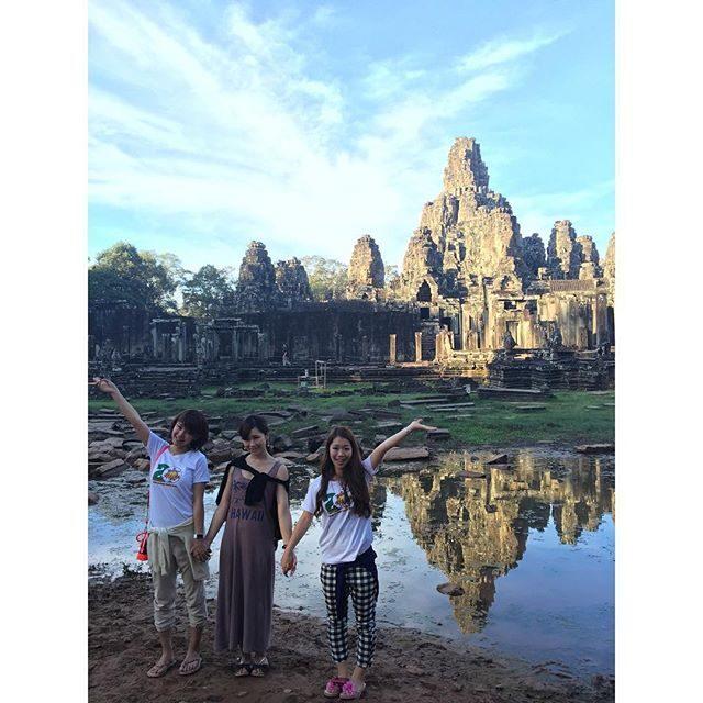 画像: ✳︎ きれいだったー♡ #アンコールトム♡*\(^o^)/* 日本帰ってから気温差で #風邪ひきました(*_*)涙 #angkorthom #angkor #anan総研 #travel #カンボジア #シュムリアップ #likes #like4l ... www.instagram.com