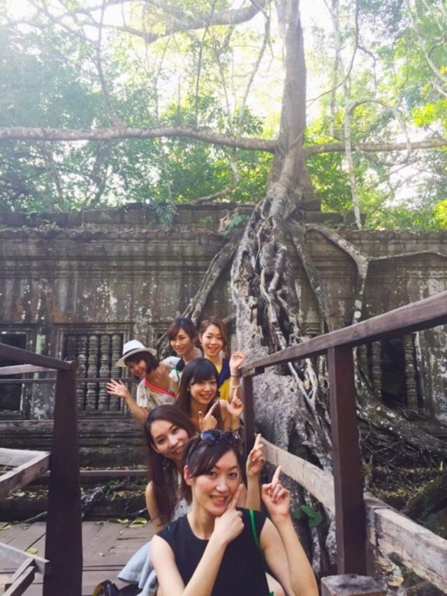 画像: カンボジアの天空の城ラピュタ♡ベンメリア遺跡