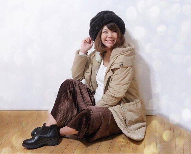 画像: ☃️ ・ 今日もモフモフ #マタニティコーデ  しっかりあたためてるよー!笑 ・ #アウター D-VEC @dvec_jp #ボトム #fifth #帽子 #CA4LA ・ 軽くてあたたかくてリピートしてるアウター D-VECの公式オンラインサイト ... www.instagram.com