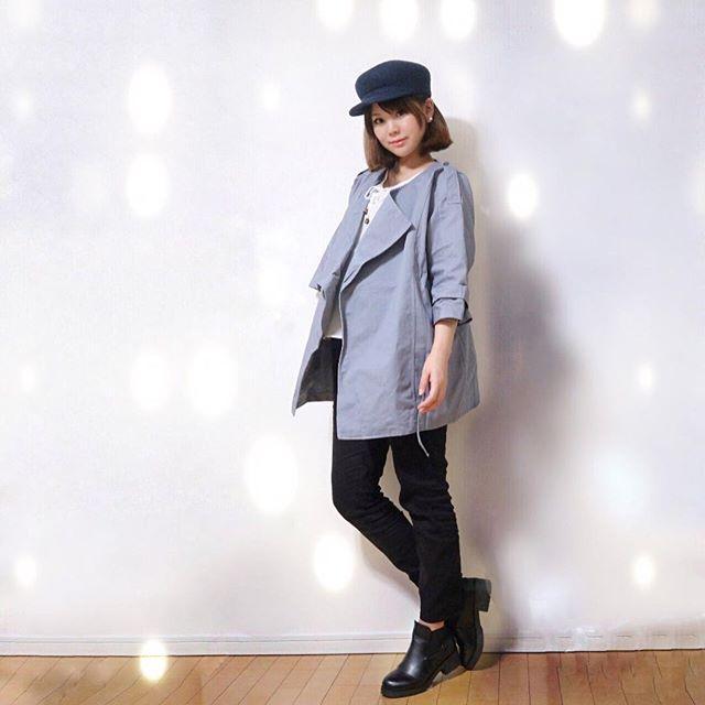 画像: ・ #outfit  ・ @firstminachan さんの #セレクトショップ でお買い物 #myphotoalbum の #ジャケット が 届いたのでさっそく着てみたよ✨ ・ 移動でモールでお買い物の時は ジャケットが大活躍 春先までたくさ ... www.instagram.com