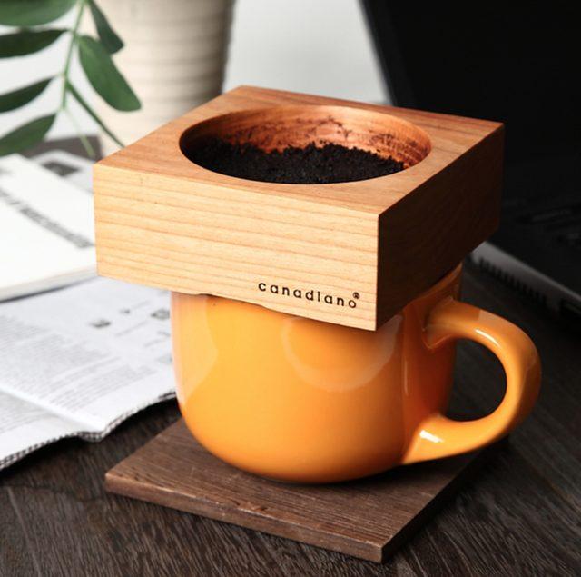 画像: 木製コーヒードリッパー『Canadiano(カナディアーノ)』