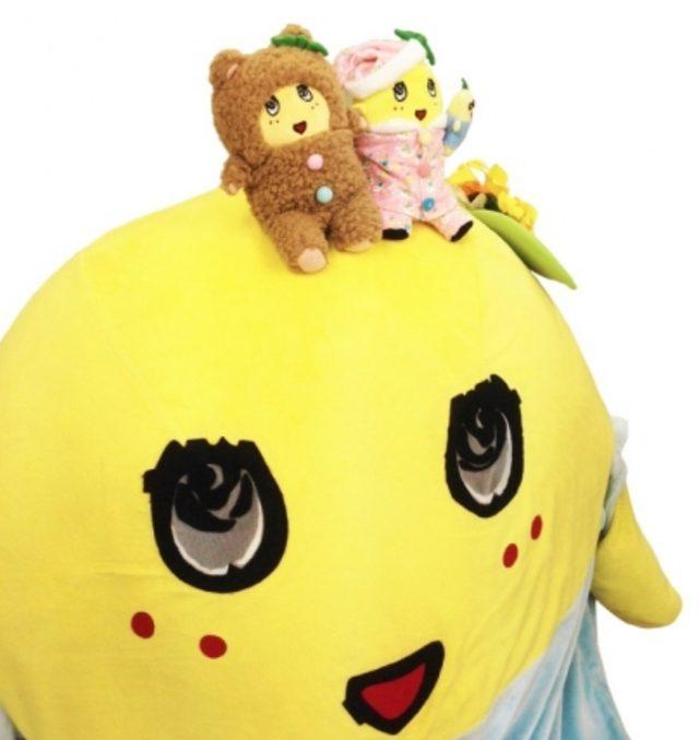 画像: 大阪梅田店限定 FUNACOLLE(パジャマ ピンク ver.)(ベア ブラウン ver.)ぬいぐるみ ©ふなっしー