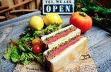 画像: 焼肉レストラン「Roins」裏メニュー 数量限定ヒレカツサンド ¥1,000- (税込)